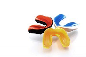 Sportmundschutz in verschiedenen Farben